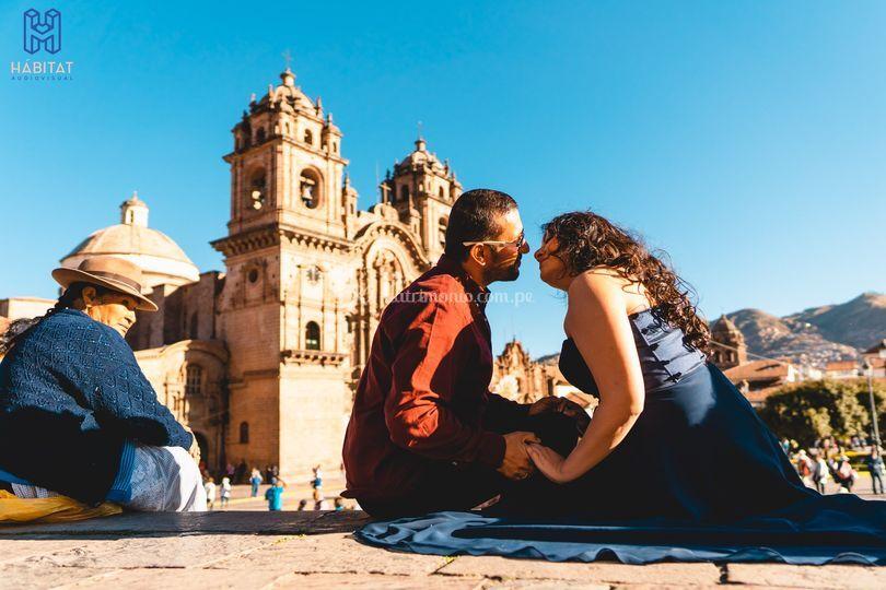 Sesión pre-boda en Cusco