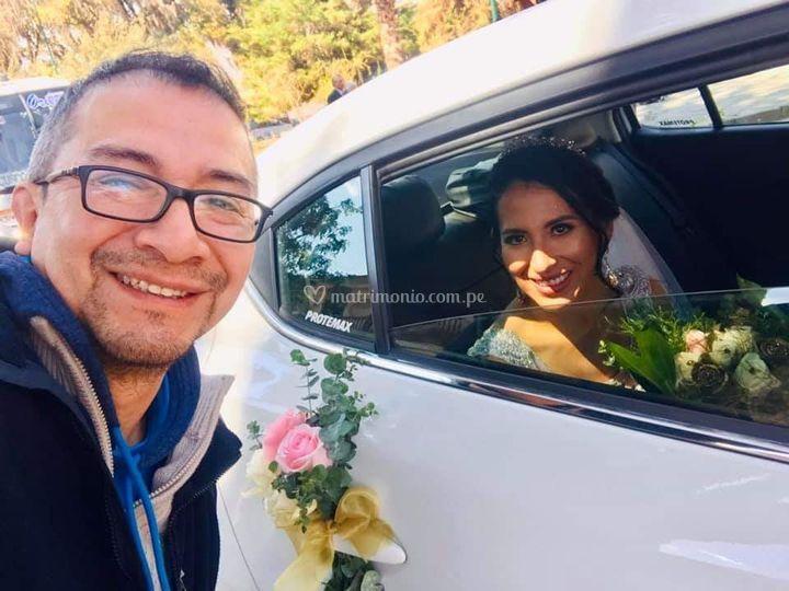 Auto bodas Cusco