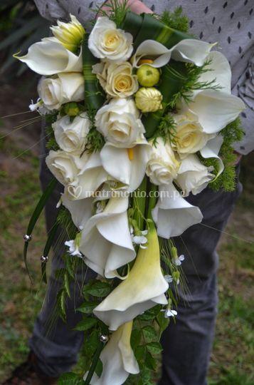 Ramo de novia colgante