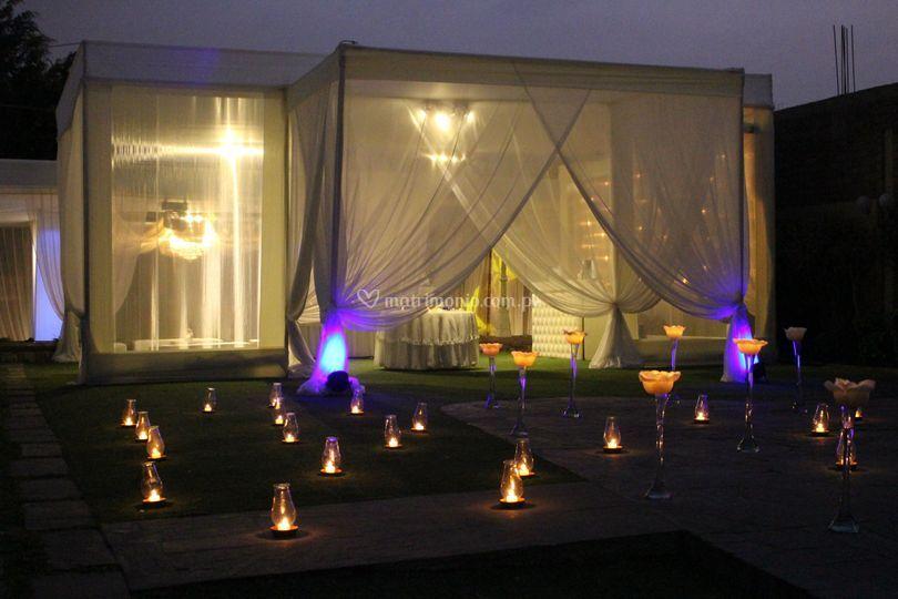Decoraciones con velas