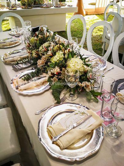 Mesa rectagular de invitados
