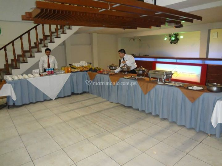 Espacio de buffet