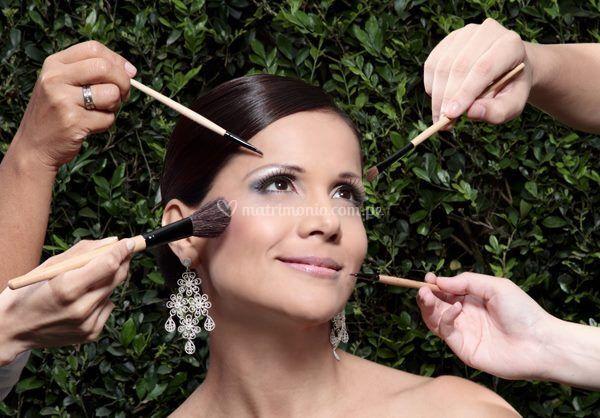 Maquillaje de publicidad