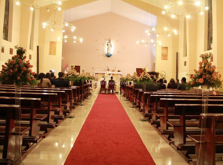 Decoración en su iglesia