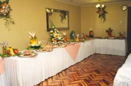 Decoraci n del buffet de catering rv fotos - Decoracion buffet ...
