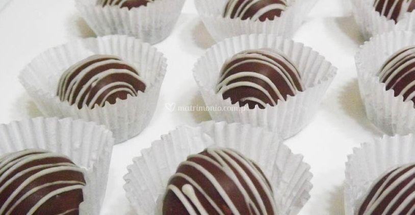 Chocolate con baño blanco de San Luigi