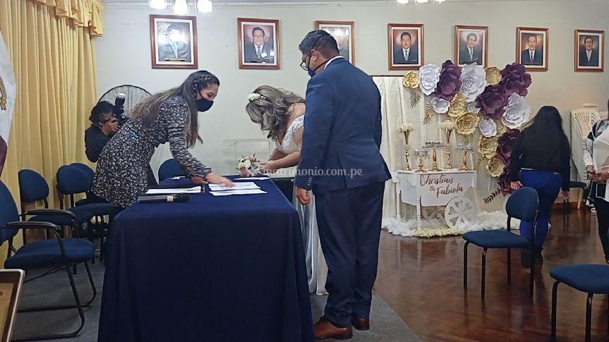 Matrimonio Civil F&C