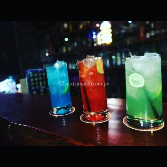 Excelentes bebidas