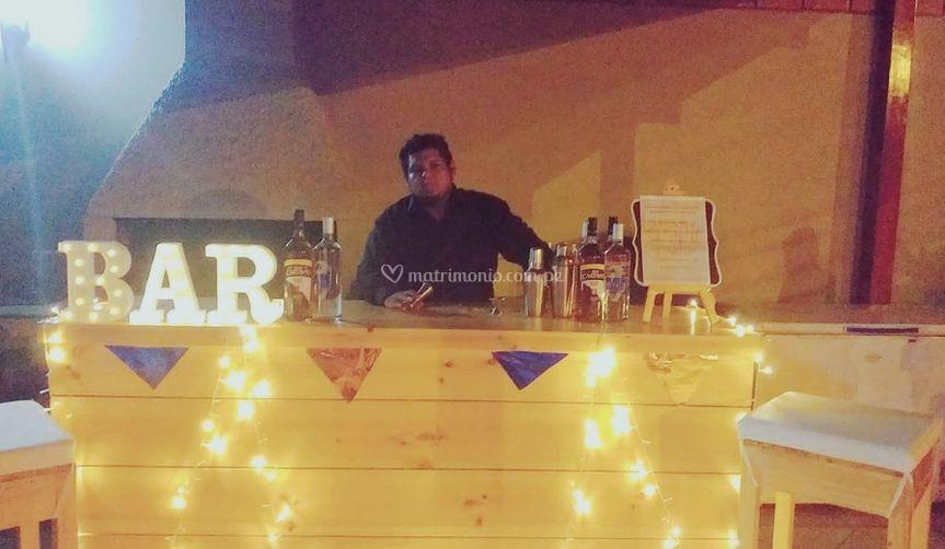 Servicio de bar
