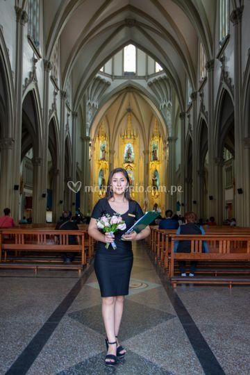 Lista en iglesia