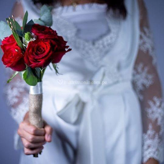 Bouquet civil pasion