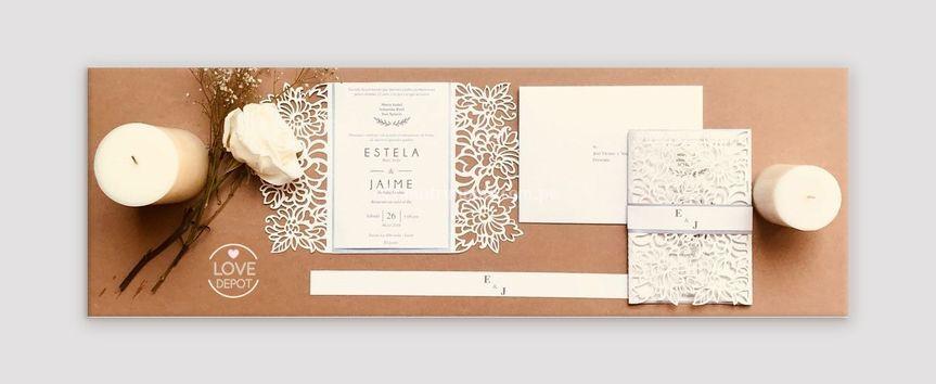 Invitaciones bodas de plata