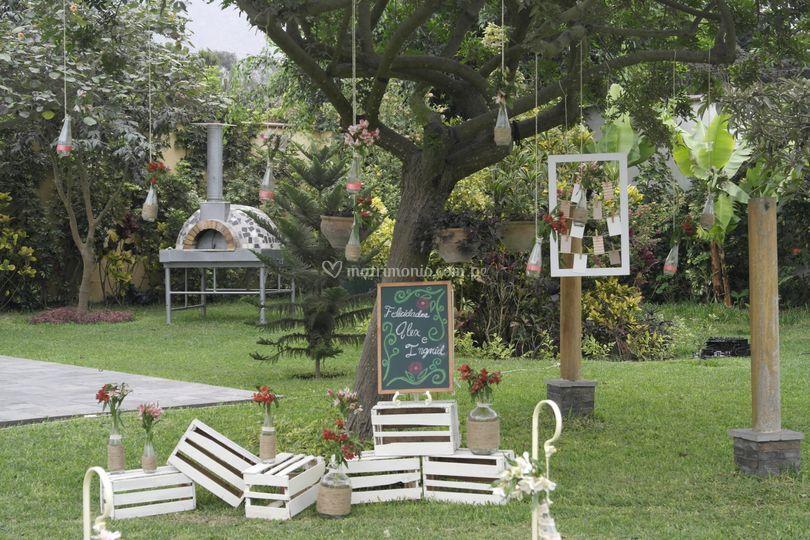 Inngenia eventos for Ambientacion para bodas