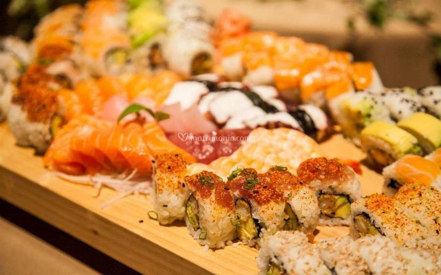 Mesa sushi