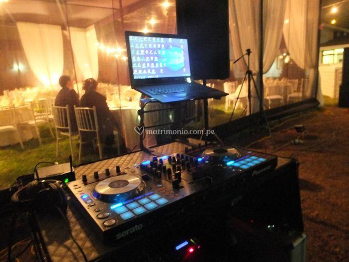 Cabinas de DJ