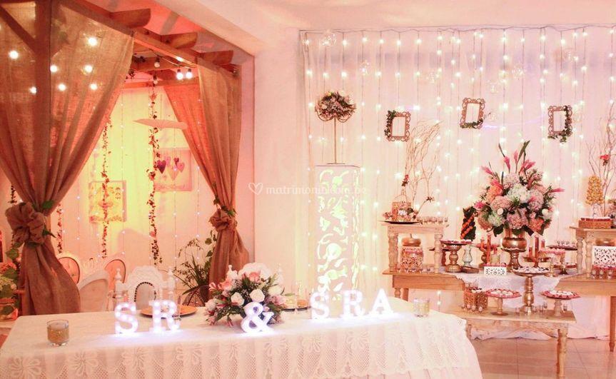 Salón para su matrimonio