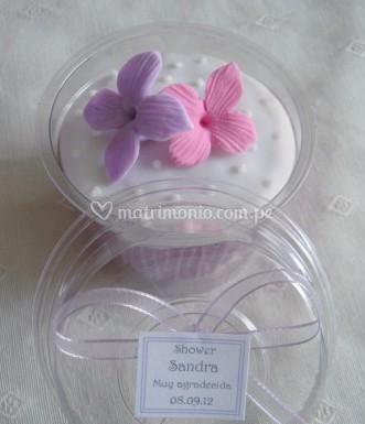 Cupcake para sus invitados
