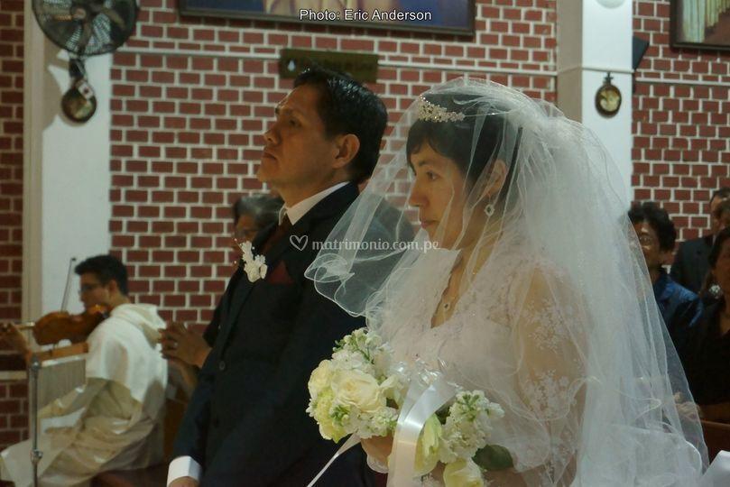 La boda de Rosiand y Rafael