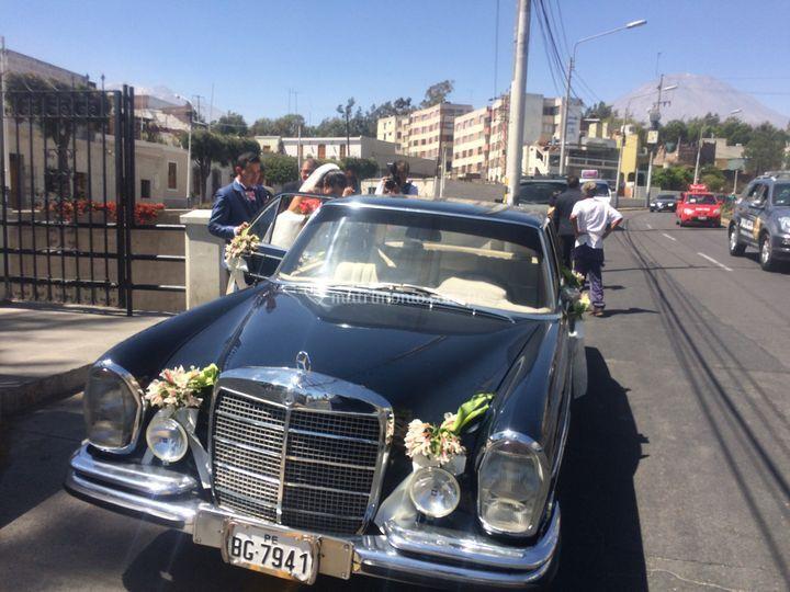 Transporte de novia