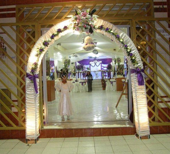 Decoración de la entrada
