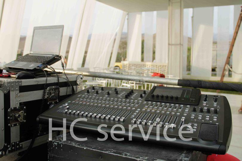 Hc service for Cabina con avvolgente portico