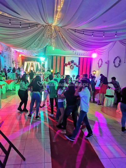 Área para el baile