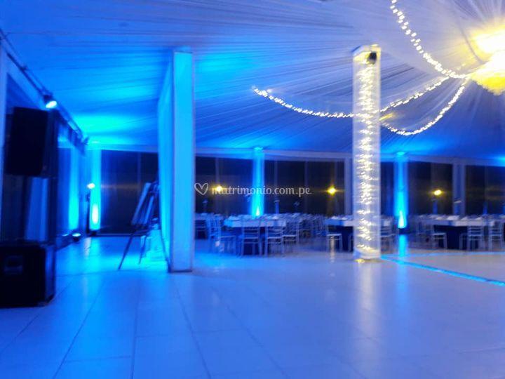 Iluminación evento