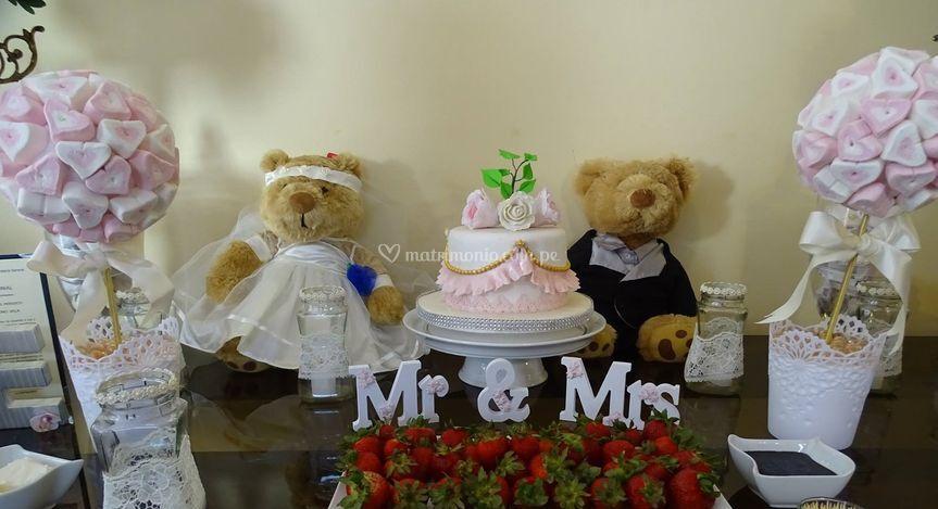 Accesorios Matrimonio Civil.