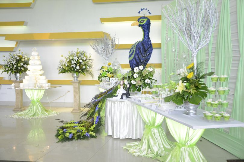 Mesa de honor matrimonio