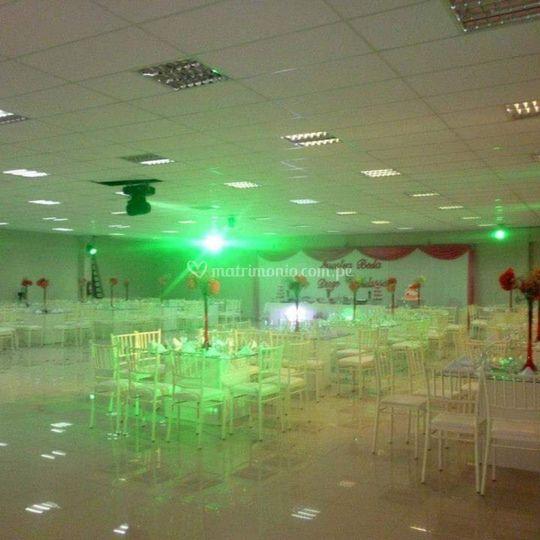Salón para 400 personas