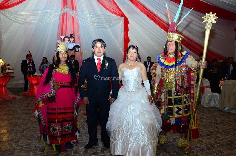Fiesta temática andina