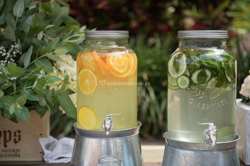 Aguas frutadas