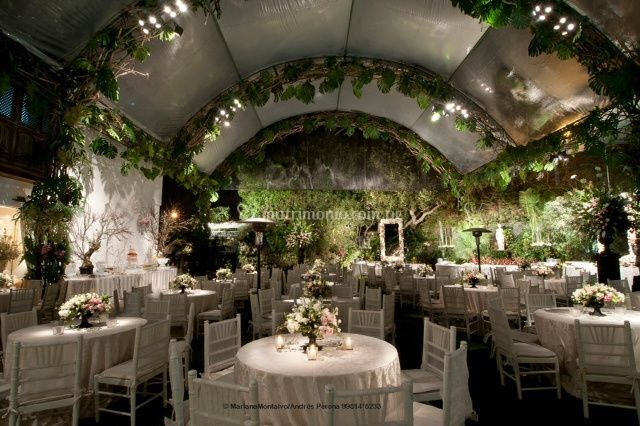 Decoración de mesas boda