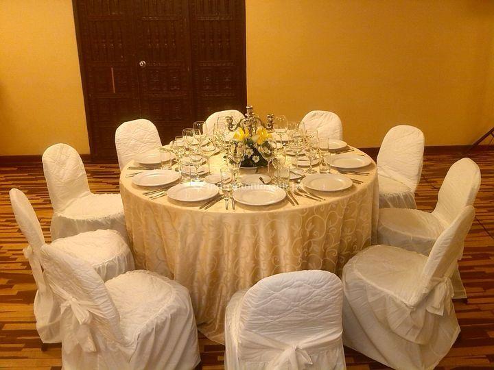 Mesa de 10 invitados