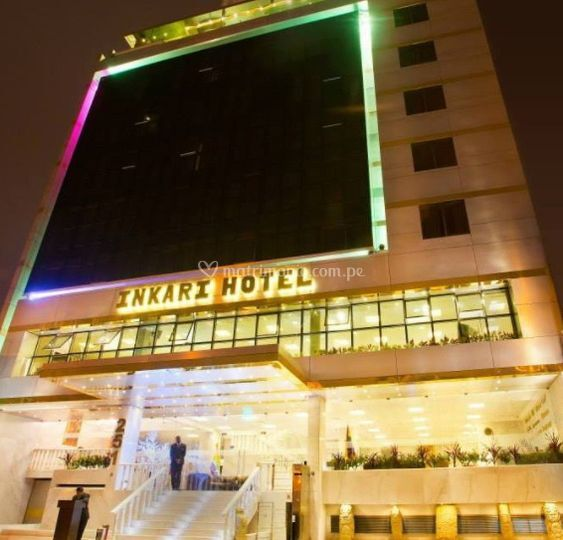 Entrada de Inkari Luxury Hotel