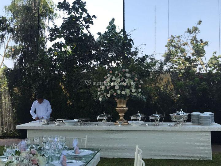 Mesa de buffett