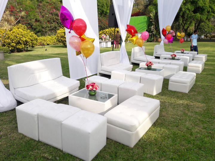 Mobiliario lounges clásico