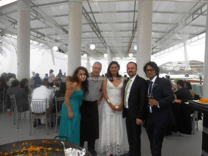 Matrimonio de 109 personas
