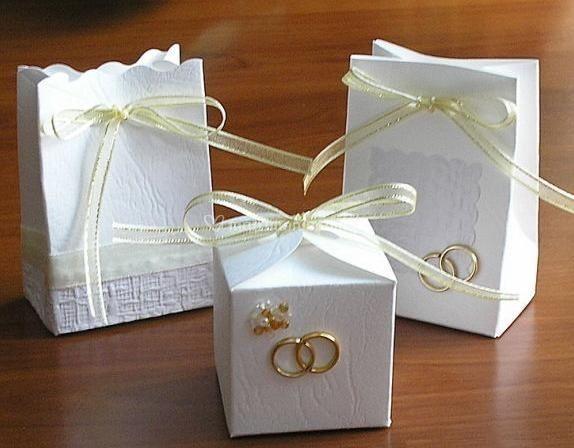 Cajitas perfectas para bodas