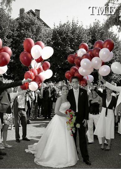 Globos para matrimonios