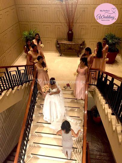 Asistencia a la novia