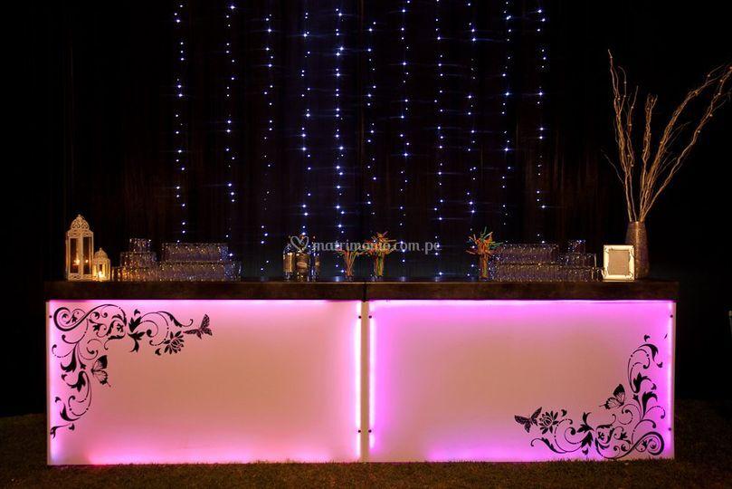 Lámparas y Eventos
