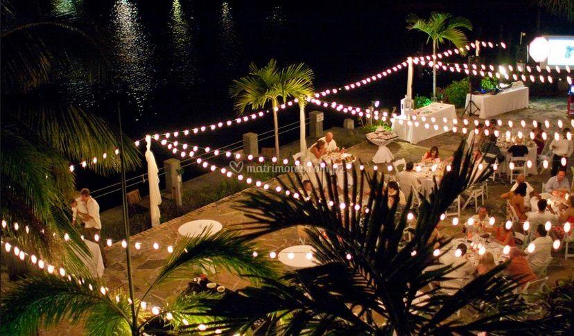 Para matrimonios de noche