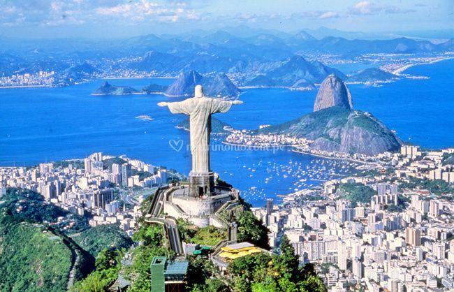Su luna de miel en Río de Janeiro