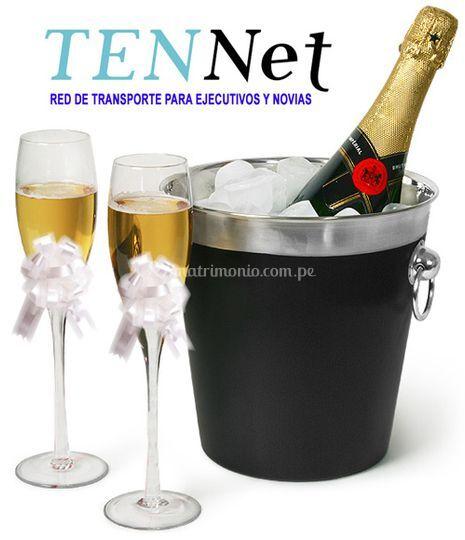 Champagne para los novios