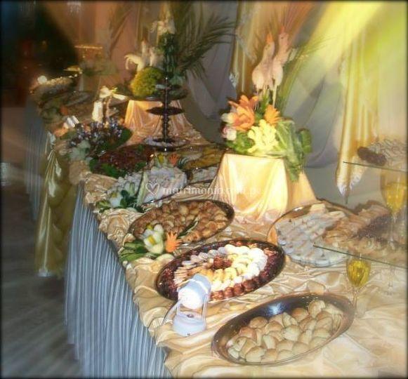Buffet de matrimonio