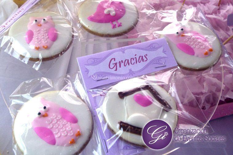 Recuerdos de galletas