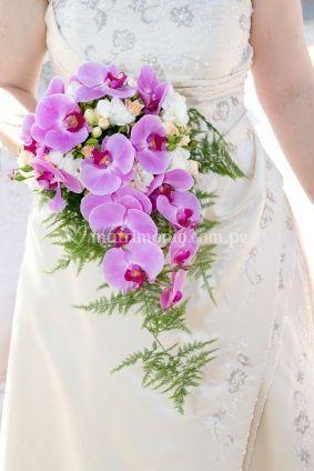 Bouquets de orquideas