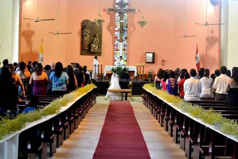 Decoración de iglesia