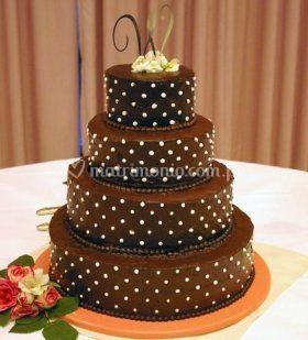 Torta para matrimoio
